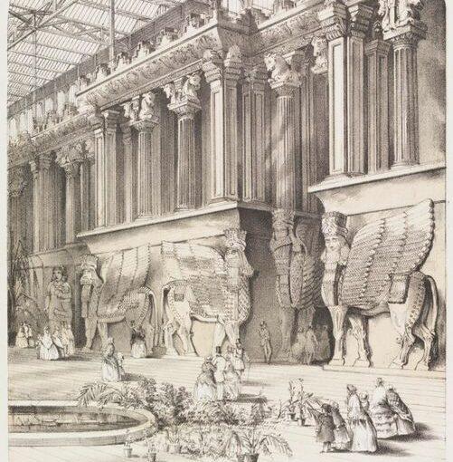 Fantaisie et idéologie des premières expositions assyriennes