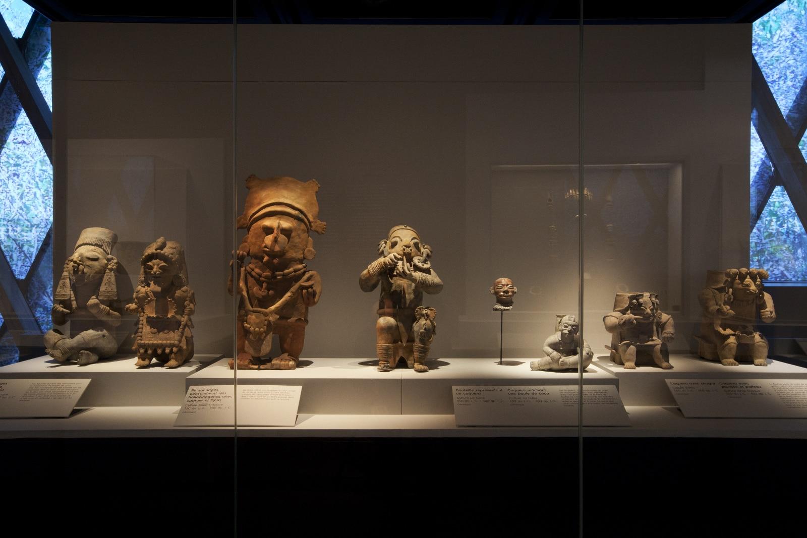 Exposition Chamanes et divinités de l'Equateur.